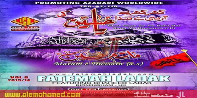 Fatemah Ladak 2013-14