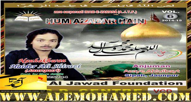 Haider Ali Sherazi 2015