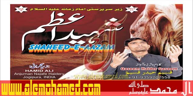 Qaseem Haider Qaseem 2014-15