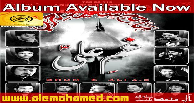 Gham-e-Ali Ramzan Noha Album 2015-16