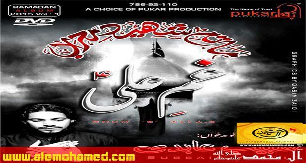 Subbaib Abidi Ramzan Noha Album 2015-16