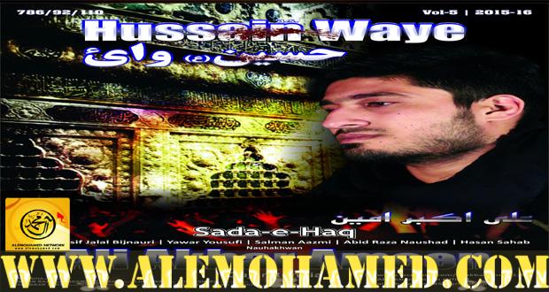 Ali Akbar Ameen Nohay 2015-16