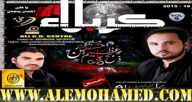 Ali Raza Irani Nohay 2015-16
