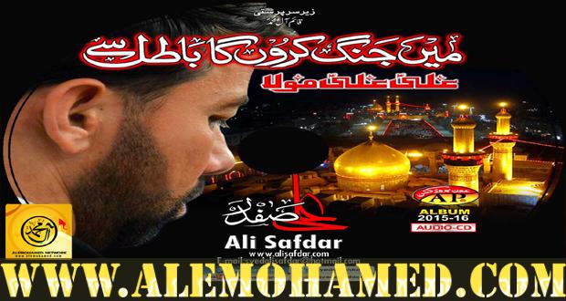 Ali Safdar Nohay 2015-16