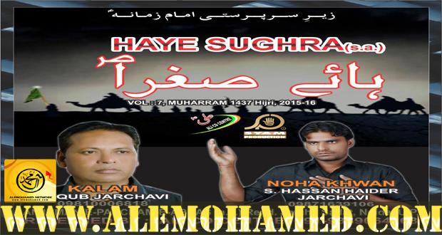 Hasan Haider Nohay 2015-16