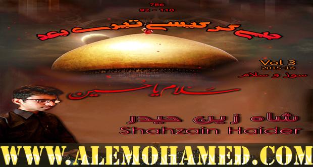 Shahzain Haider Nohay 2015-16