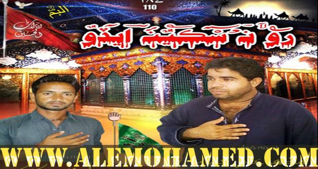 Mazher Ali & Zubair Ahmed Nohay 2015-16