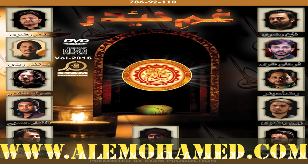 Gham-e-Haider Ramzan Noha Album 2016-17