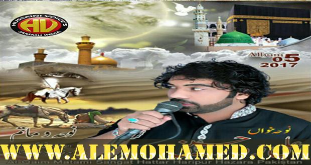 Ali Zawar Hussaini Nohay 2016-17