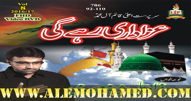 Faraz Ali Shah Nohay 2016-17
