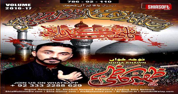 Zaheer Abbas Kazmi Nohay 2016-17