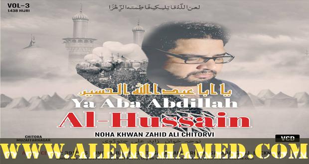 Zahid Ali Chitorvi Nohay 2016-17