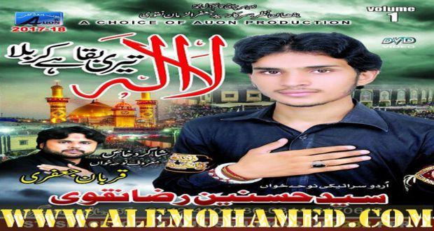 Hasnain Raza Naqvi Nohay 2017-18