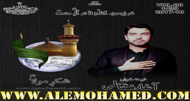Agha Raza Ali Nohay 2017-18