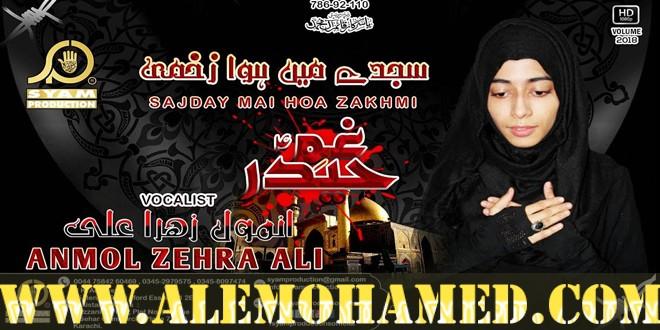 Anmol Zehra Ali Ayyam-e-Ali Noha 2018-19