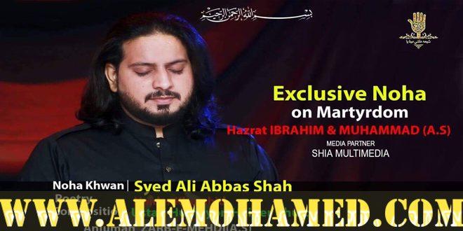 Ali Abbas Shah Nohay 2018-19
