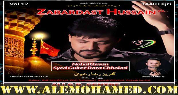 Gulrez Raza Chholasi Nohay 2018-19
