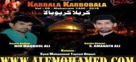 Maqbool Ali & Amanath Ali Nohay 2018-19