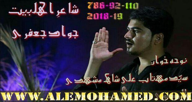 Mehtab Ali Rizvi Nohay 2018-19