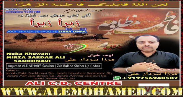 Sardar Ali Nohay 2018-19