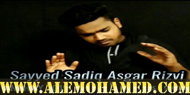 Sayed Sadiq Asgar Rizvi Nohay 2018-19