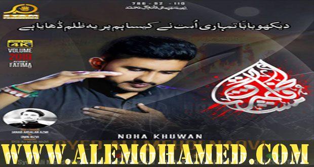 Ali Mehdi Naqvi Ayyam-e-Fatima Nohay 2019-20