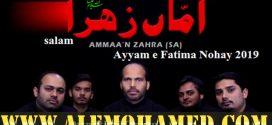 Own Rizvi Ayyam-e-Fatima Nohay 2019-20