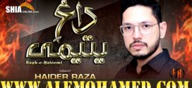 Haider Raza Ayyam-e-Ali Nohay 2019-20
