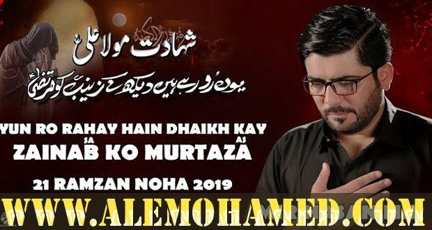 Mir Hasan Mir Ayyam-e-Ali Nohay 2019-20