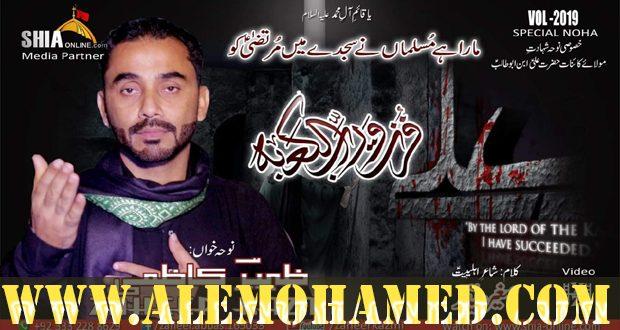 Zaheer Abbas Kazmi Ayyam-e-Ali Nohay 2019-20