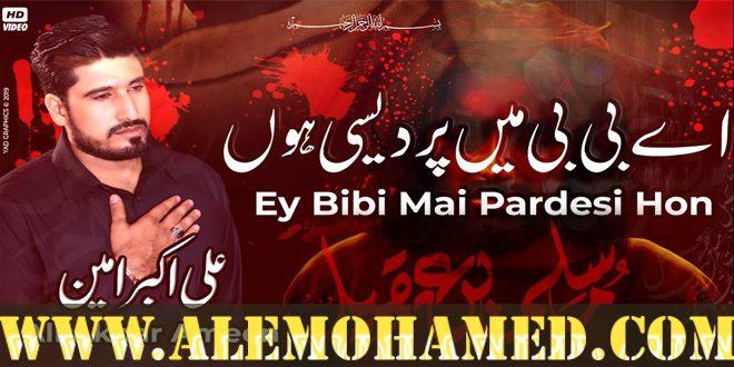 Ali Akbar Ameen Nohay 2019-20