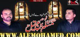 Bakhtiar Ali & Baqir Ali Sheedi Nohay 2019-20