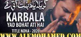 Raza Abbas Zaidi Nohay 2020-21